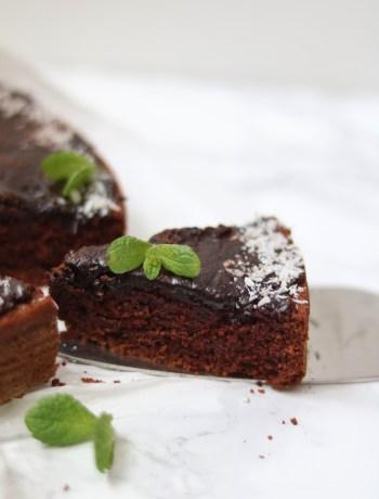 veganer Schokoladenkuchen glutenfrei