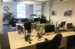 Alaska TV shared office space to let