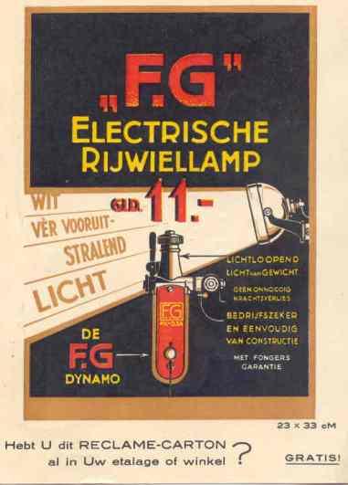 FG lamp 1928