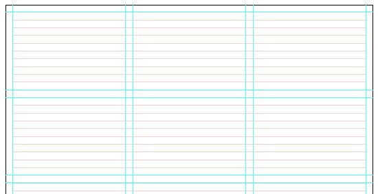 Grid Systems – Making grids in Illustrator | prepressstuff