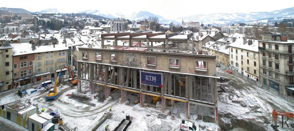 Les Halles de Chambéry panoramique