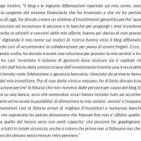Manuel Ros: la rivelazione di un talento; il Madoff italiano, un Sindona 2.0, lo schema Ponzi 3.0.