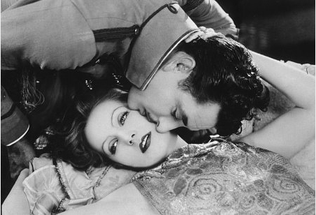 John Gilbert and Greta Garbo in Flesh and the Devil, 1926