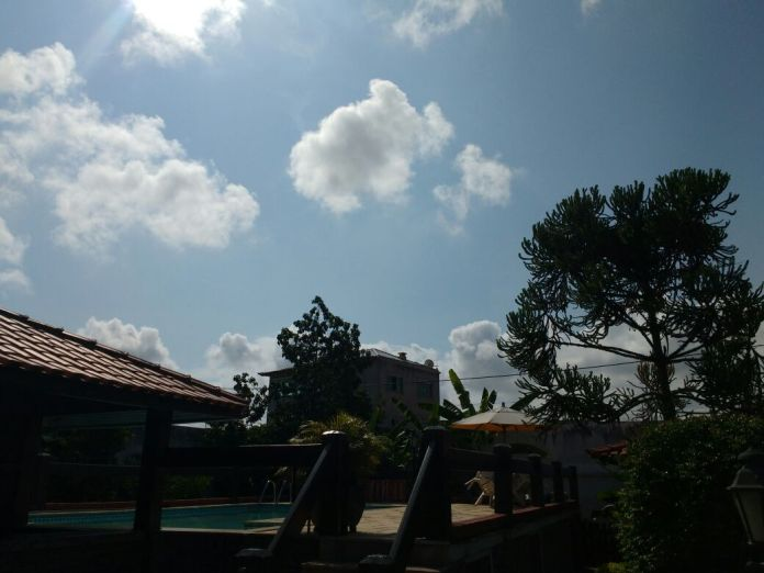 Fim de semana será de sol entre nuvens e clima ameno.