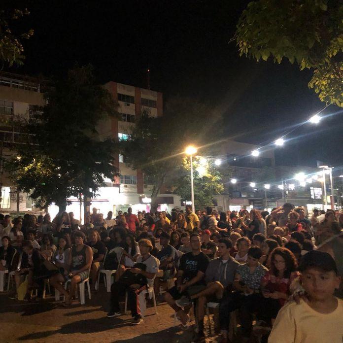 Em Cabo Frio a concentração foi pela tarde na Praça Porto Rocha