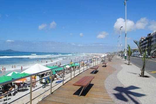 A Praia do Forte, em Cabo Frio receberá neste fim de semana uma agenda de shows que promete movimentar a orla.