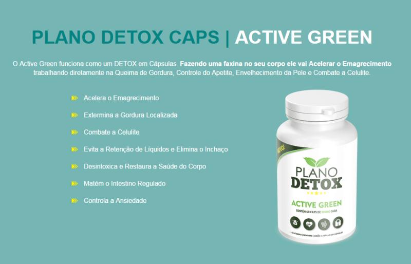 active - COMPROVADO! Com Plano Detox Caps Você Emagrece Definitivamente!