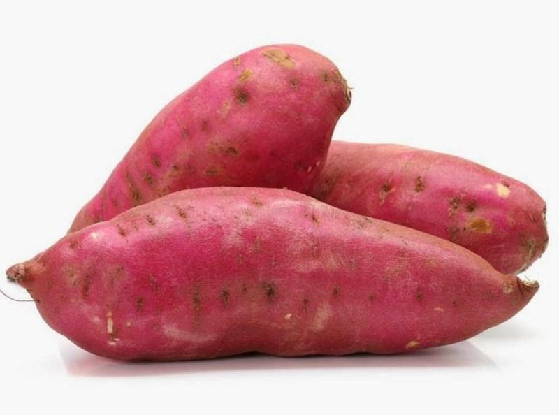 Batata doce1 - 8 Alimentos que Fazem Seu Cabelo Crescer Mais Rápido