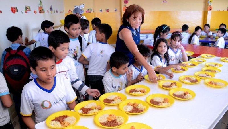alimentação saudável nas escola 2 1024x580 - Alimentação saudável na escola: É importante? Como Fazer?
