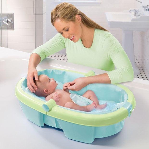 2 10 - Como dar banho em bebês de forma segura? Veja dicas! Vídeo