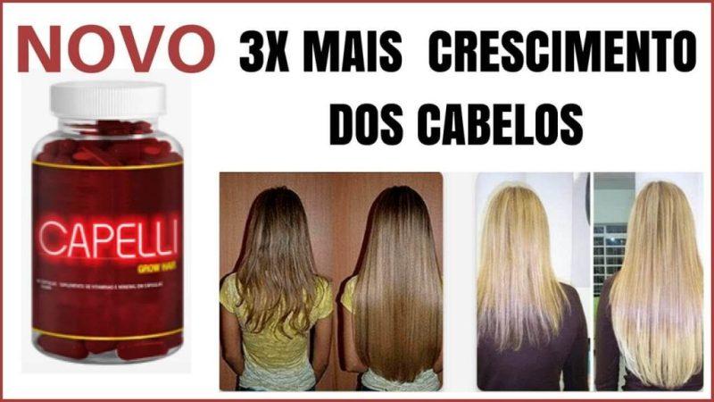Capelli Hair Evite Queda de cabelo Feminino cabelos lindos