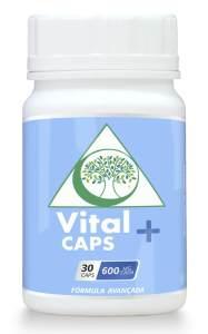 Vital Caps + Suplemento Natural contra Ansiedade, Depressão e Insonia potes