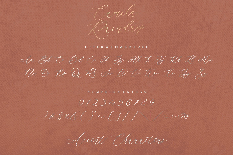 Camila Raindrop6