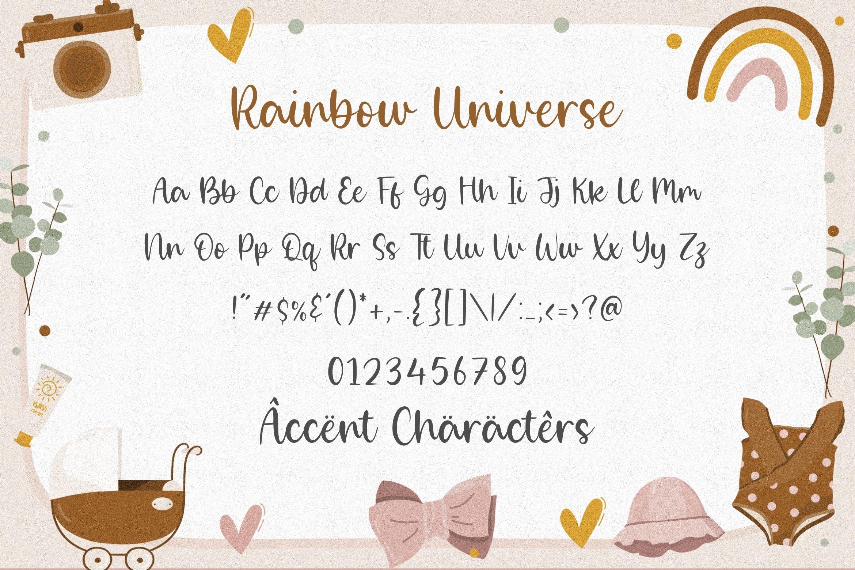 Rainbow Universe6