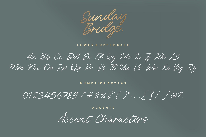 Sunday Bridge 6