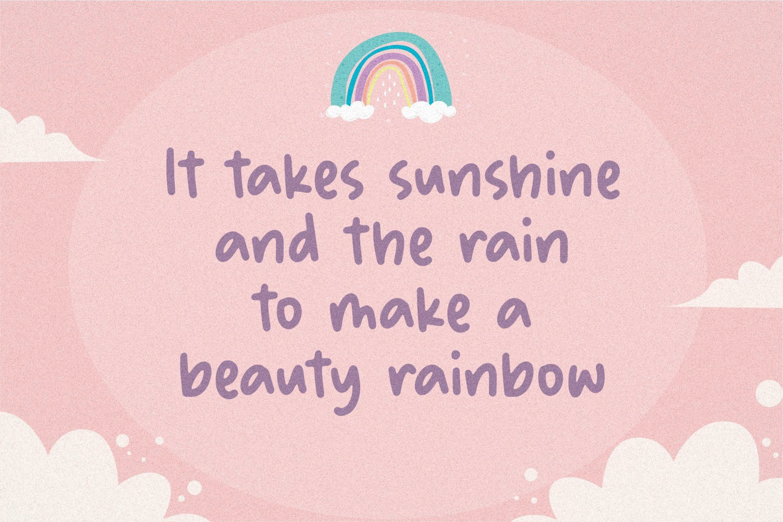 Bubble Rainbow4