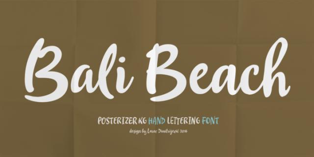 Bali Beach Script