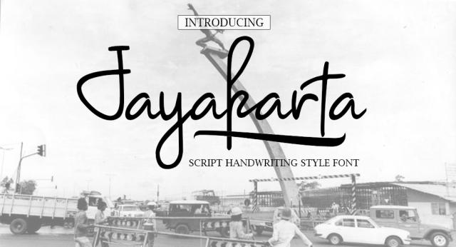 Jayakarta Handwriting