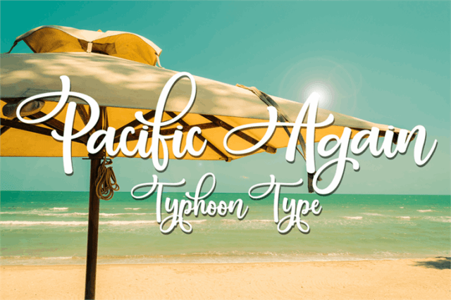 Pacific Again Script