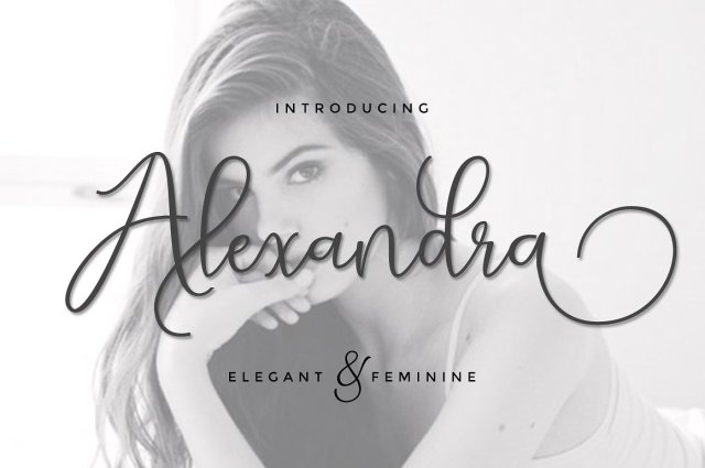Alexandra Calligraphy