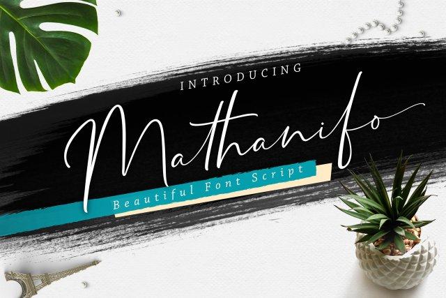 Mathanifo Handwritten