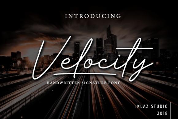 Velocity Signature