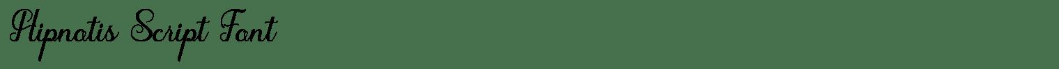 Hipnotis Script Font