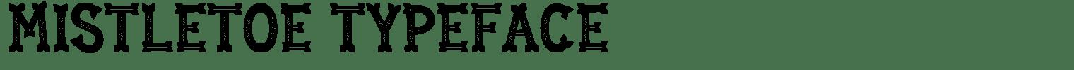 Mistletoe Typeface