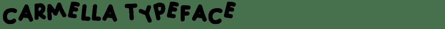 Carmella Typeface