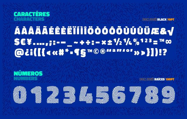 Don José Sans Serif Font