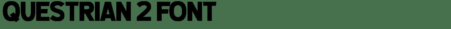 Questrian 2 Font