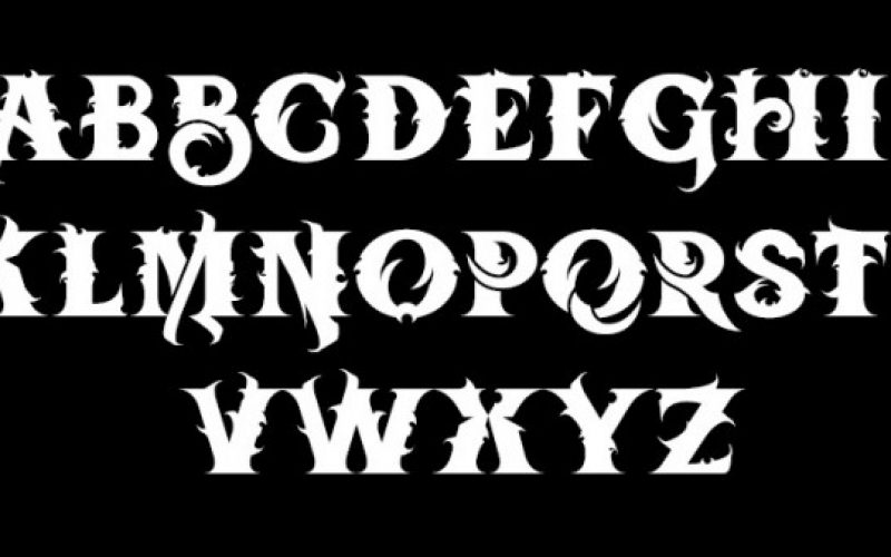 Download Chaos Made Gothic Font - Fontlot.com