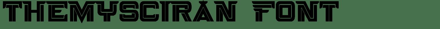 Themysciran Font