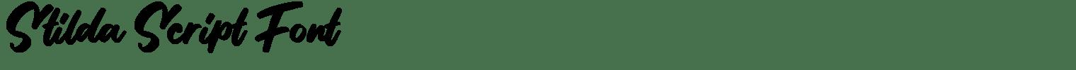 Stilda Script Font