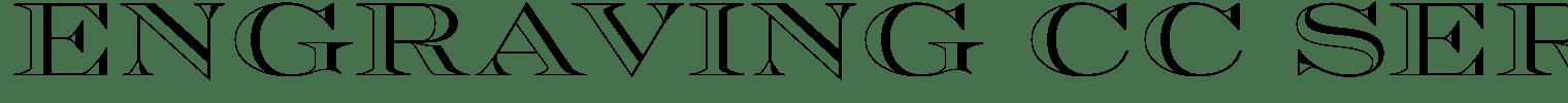 Engraving CC Serif Font