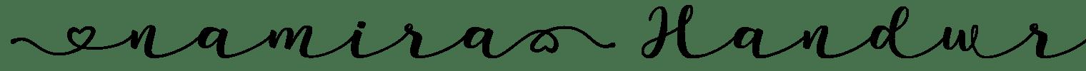 Namira Handwritten Font
