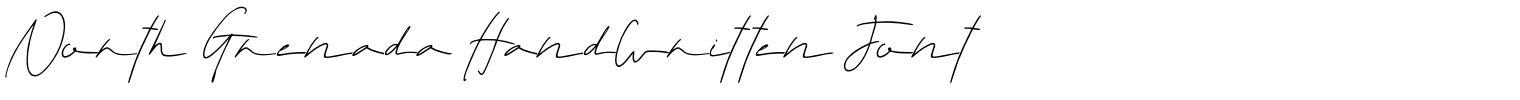 North Grenada Handwritten Font
