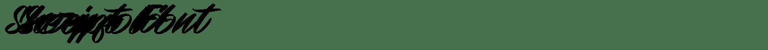 Sheepfold Script Font
