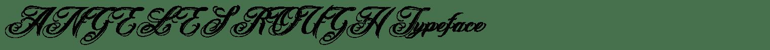 ANGELES ROUGH Typeface