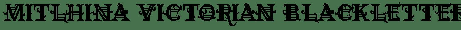 Mitlhina Victorian Blackletter Font
