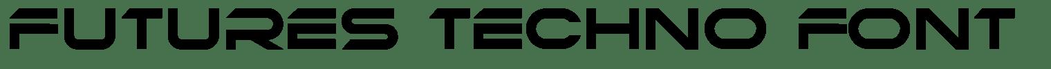 Futures Techno Font