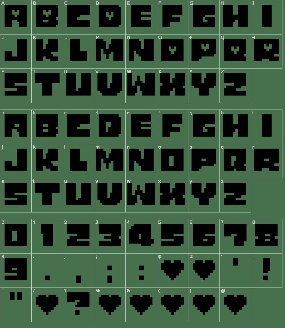 Undertale Characters Logo