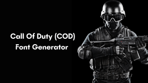 Read more about the article COD Font Generator