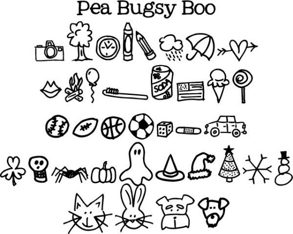 sweet pea font # 35