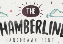 Chamberline and Doodle Vector Font