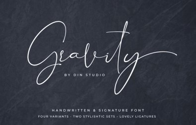 gravity-handwritten