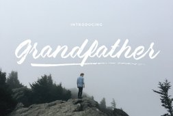 grandfather-brush-script