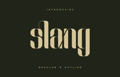 slang-ligature-font