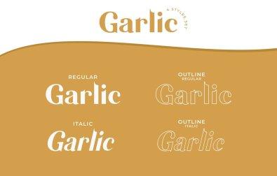 garlic-elegant-font