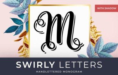 swirly-letters
